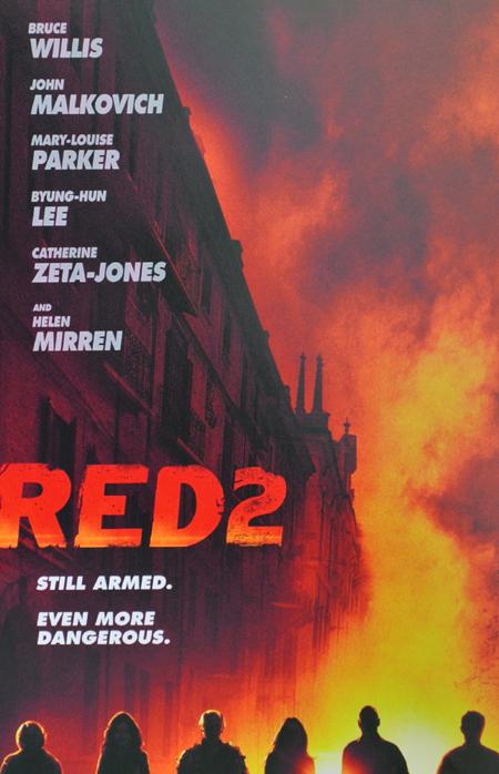 Red 2 Teaser-Plakat