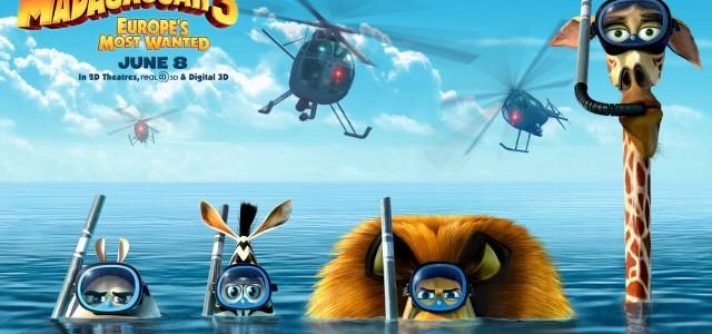 Box-Office Deutschland – Madagascar 3 hält souverän die Spitze