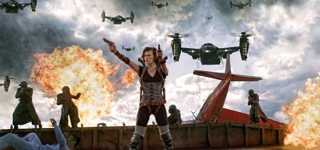 Box-Office USA – Resident Evil ist eine unspektakuläre Nummer 1
