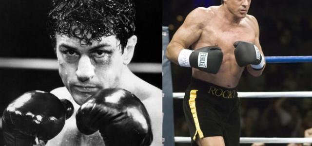 Stallone und De Niro boxen gegeneinander
