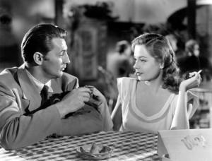 Robert Mitchum und Jane Greer in Goldenes Gift (1947)