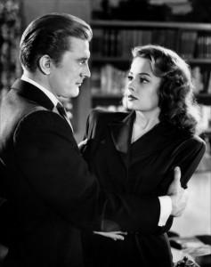 Kirk Douglas und Jane Greer in Goldenes Gift (1947)