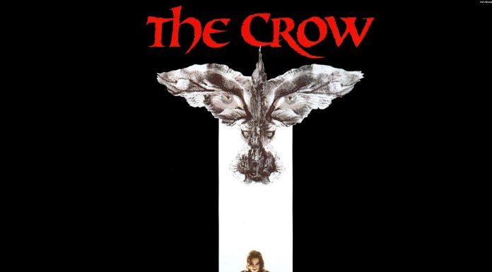 James McAvoy in The Crow