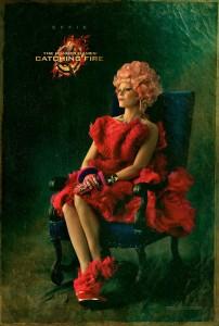 Catching Fire Charakterposter - Effie