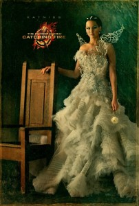 Catching Fire Charakterposter - Katniss
