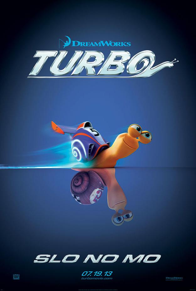 Turbo Trailer und Poster 2013