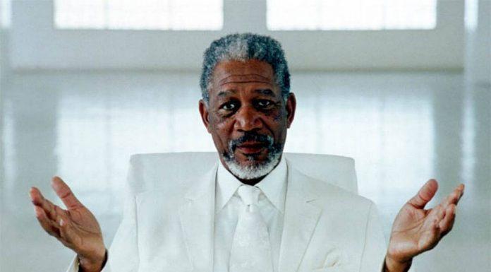Morgan Freeman in Transcendence