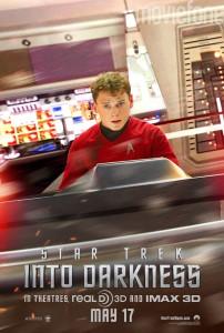 Star Trek into Darkness Laufzeit und Charakterposter 1