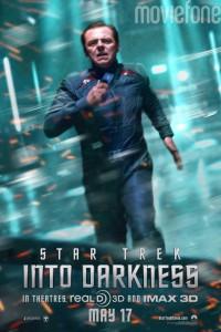 Star Trek into Darkness Laufzeit und Charakterposter 2