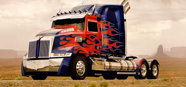 Transformers 4: Neues Design von Optimus Prime enthüllt
