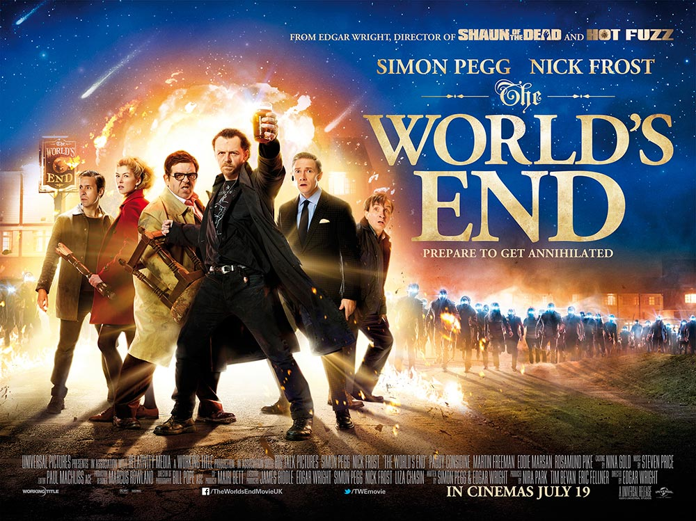 The World's End Trailer und Poster 1