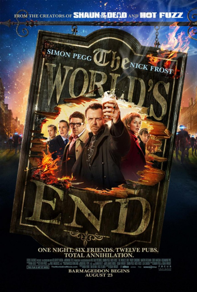The World's End Trailer und Poster 2