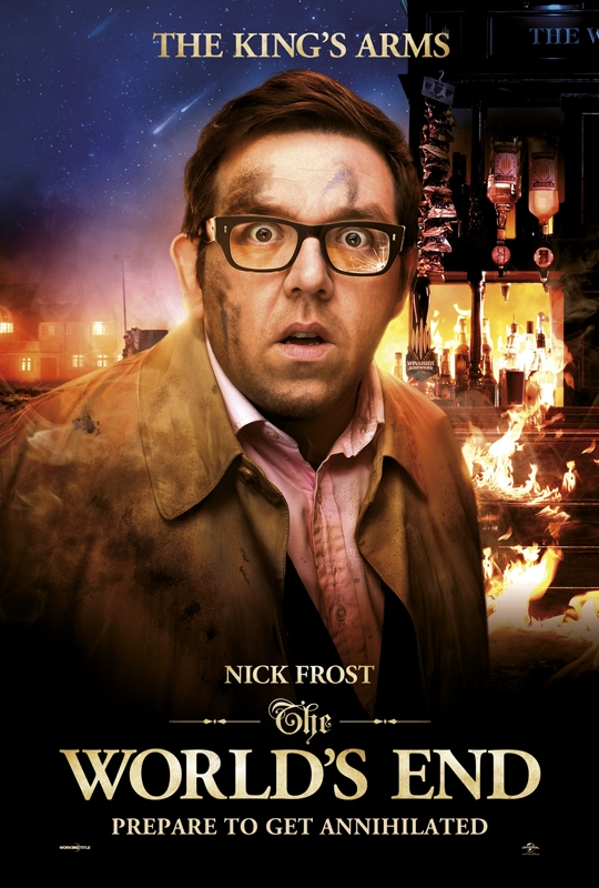 The World's End Charakterposter Frost