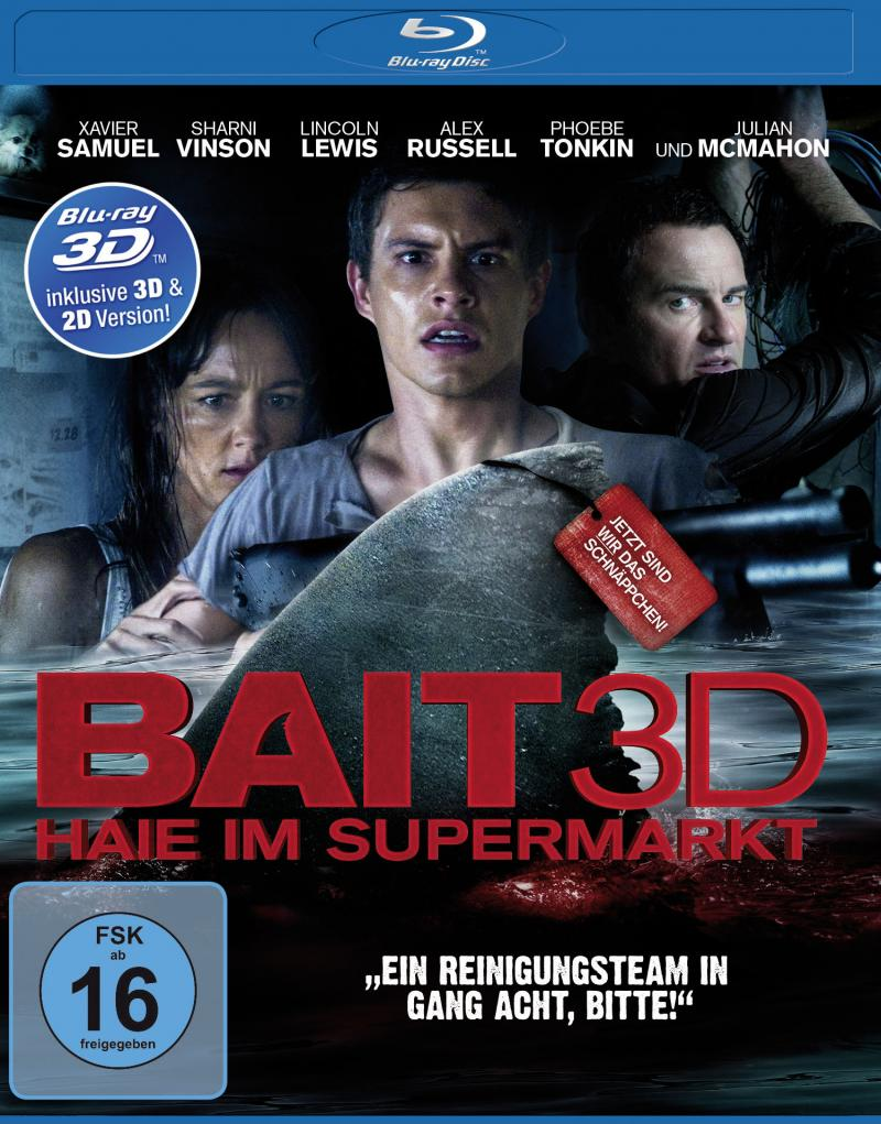 Bait Haie im Supermarkt BluRay 3D Cover