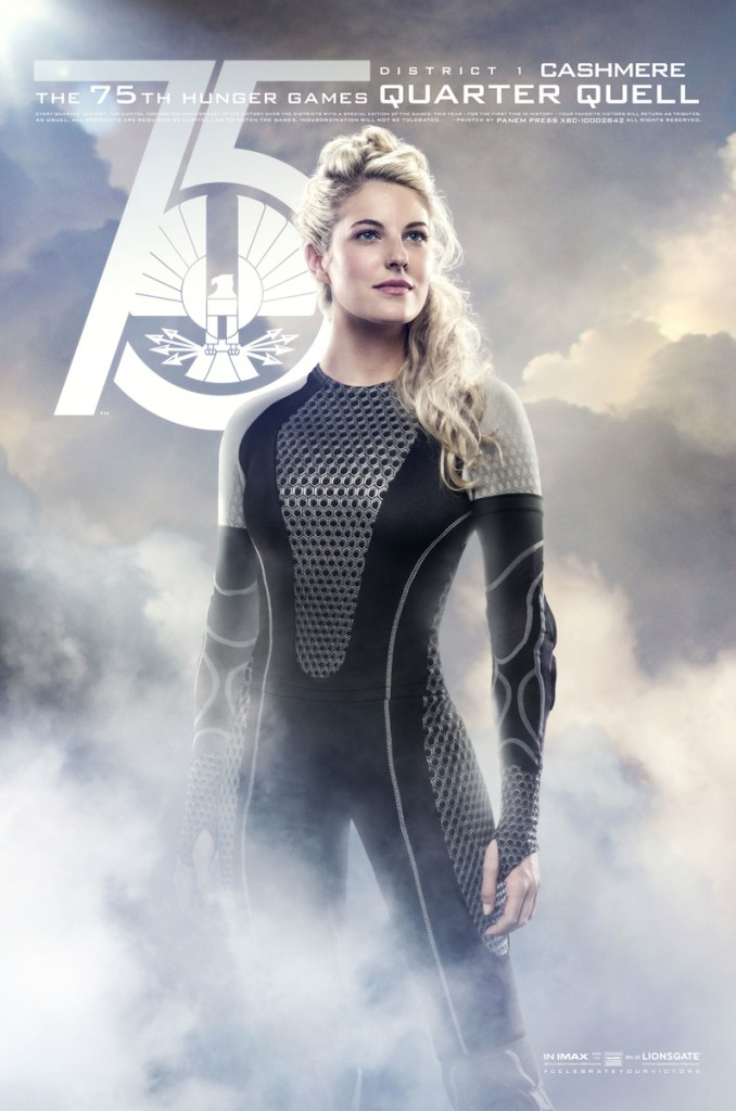 Tribute von Panem - Catching Fire Charakterposter Cachmere