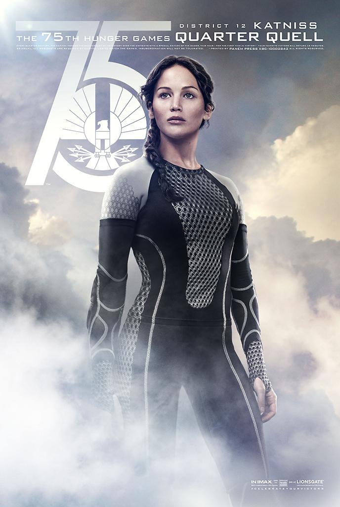 Tribute von Panem - Catching Fire Charakterposter Katniss