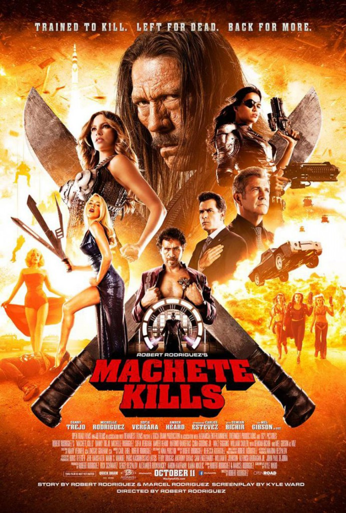 Machete Kills Plakat