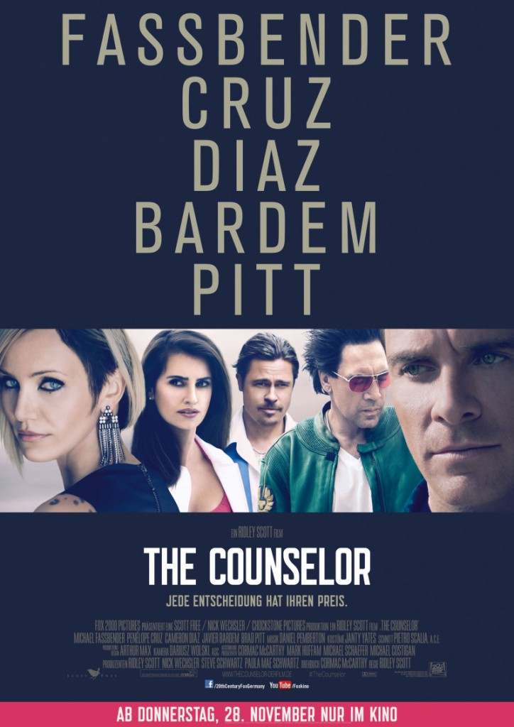 The Counselor Poster 1