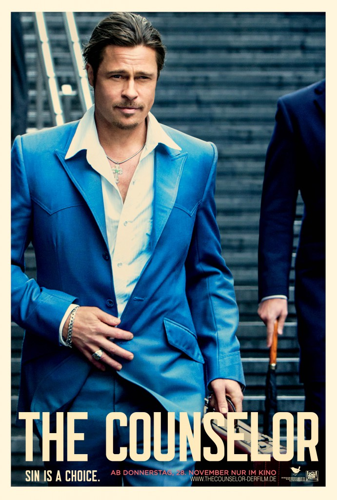 The Counselor Poster - Pitt