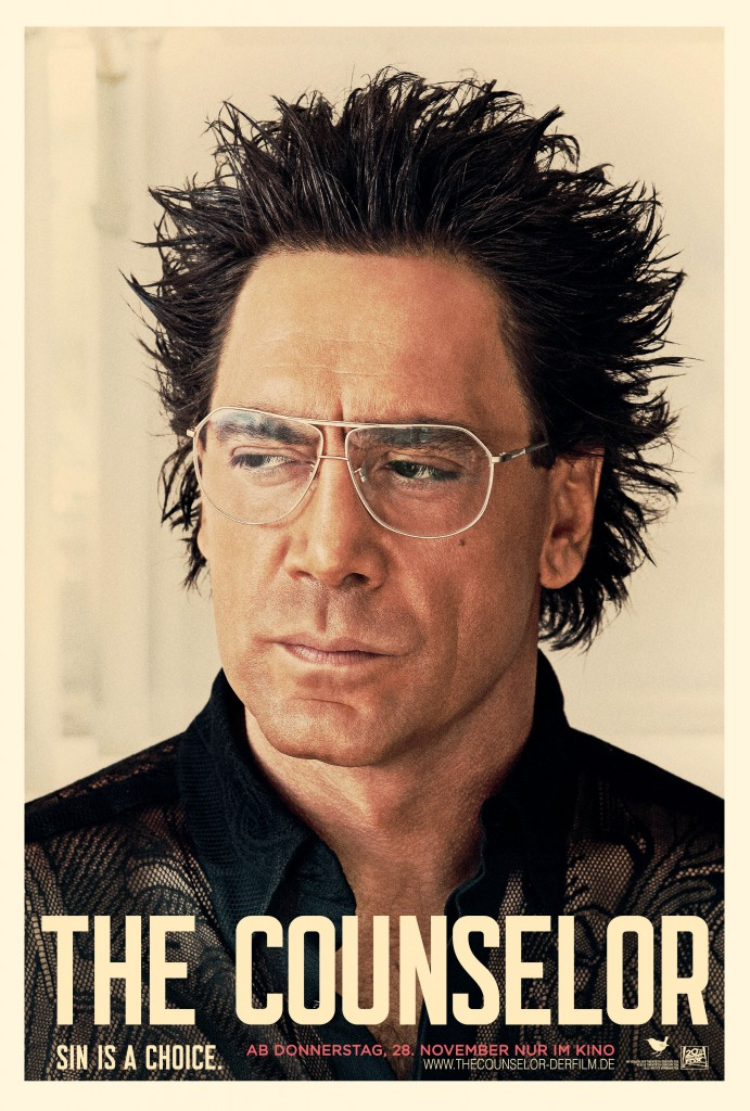 The Counselor Poster - Bardem