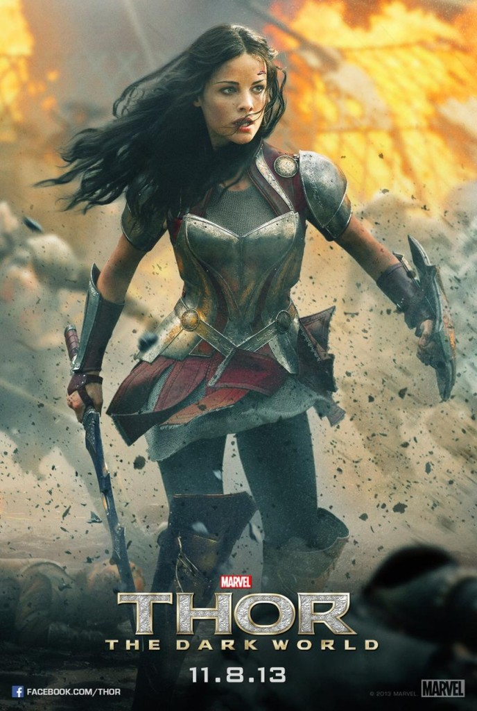 Thor 2 Poster - Lady Sif