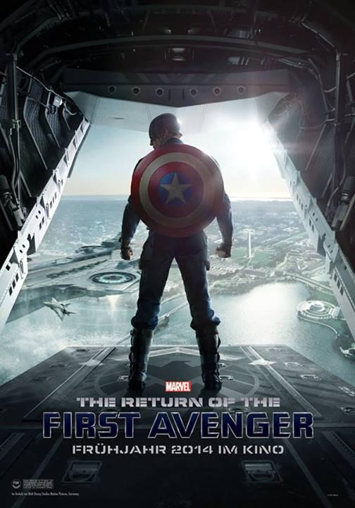 Captain America The Return of the First Avenger Poster