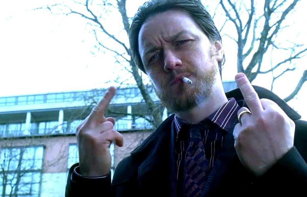 "James McAvoy Interview  zu ""Drecksau"" 2"