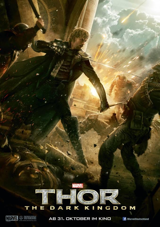 Thor The Dark Kingdom Clip und Poster 2
