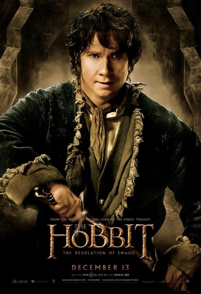 Der Hobbit 2 Charakterposter - Bilbo
