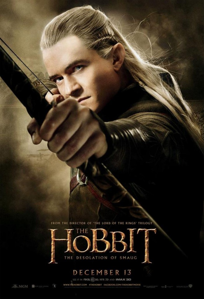 Der Hobbit 2 Charakterposter - Legolas
