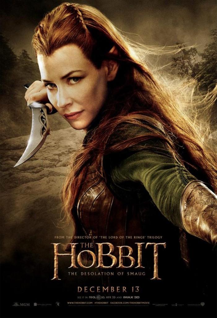 Der Hobbit 2 Charakterposter - Tauriel