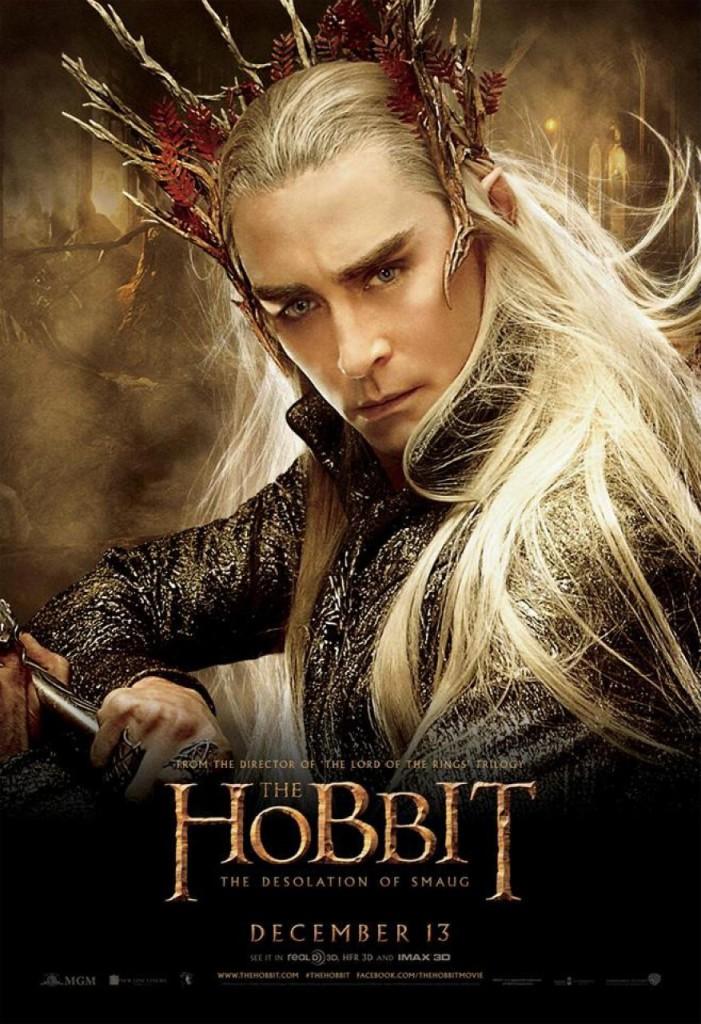 Der Hobbit 2 Charakterposter - Thranduil