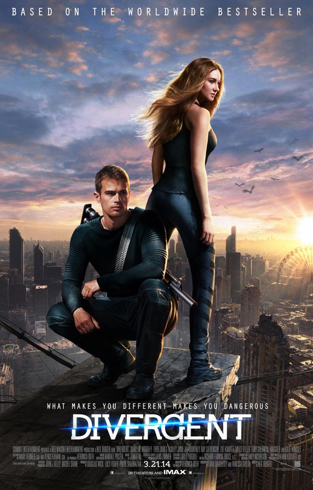 Divergent Trailer und Poster