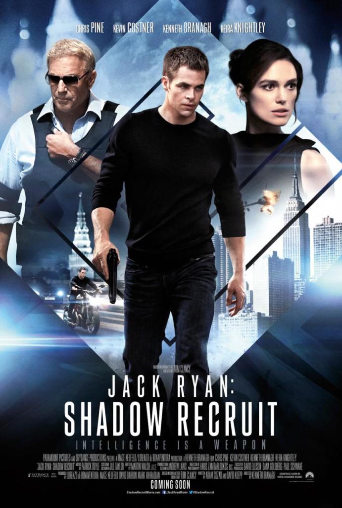 Jack Ryan Shadow Recruit Poster 1