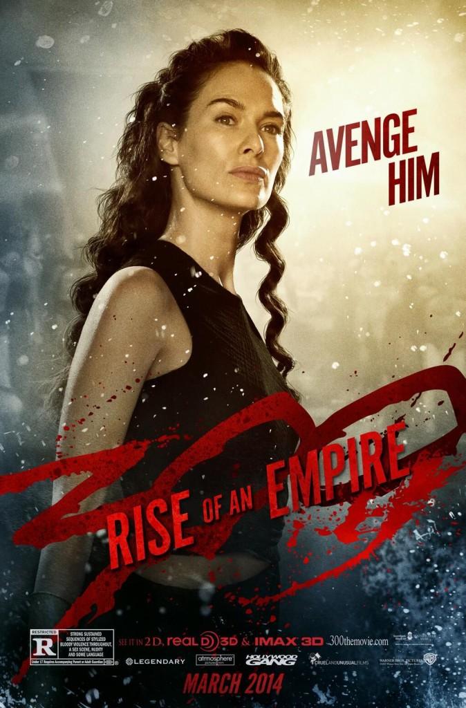300 Rise of an Empire Charakterposter Lena Headey