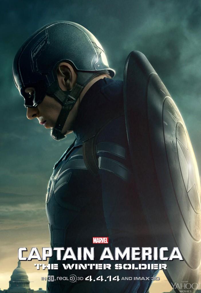 Captain America 2 Poster - Captain America