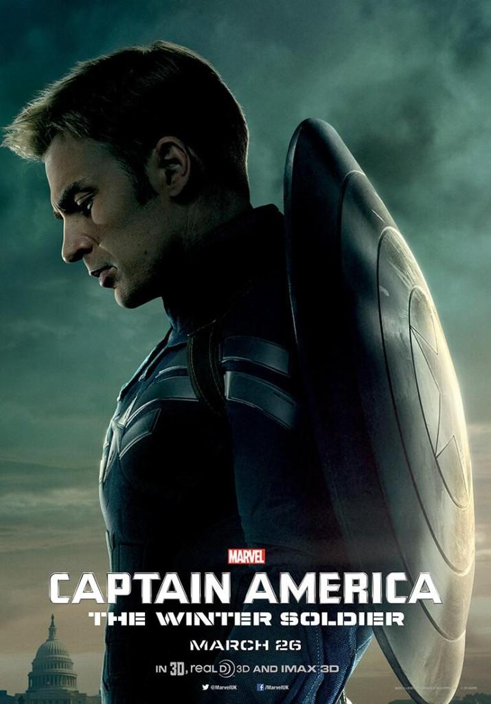 Captain America 2 Poster UK