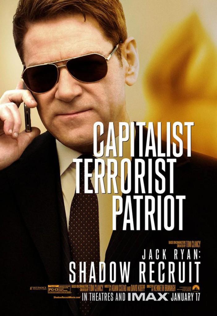 Jack Ryan Charakterposter - Kenneth Branagh