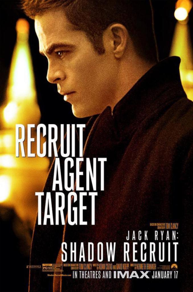 Jack Ryan Charakterposter - Chris Pine