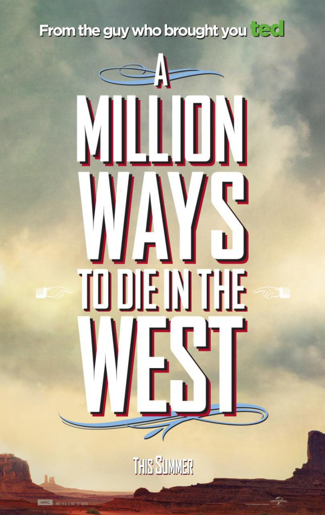A Million Ways to Die in the West Poster - Teaser