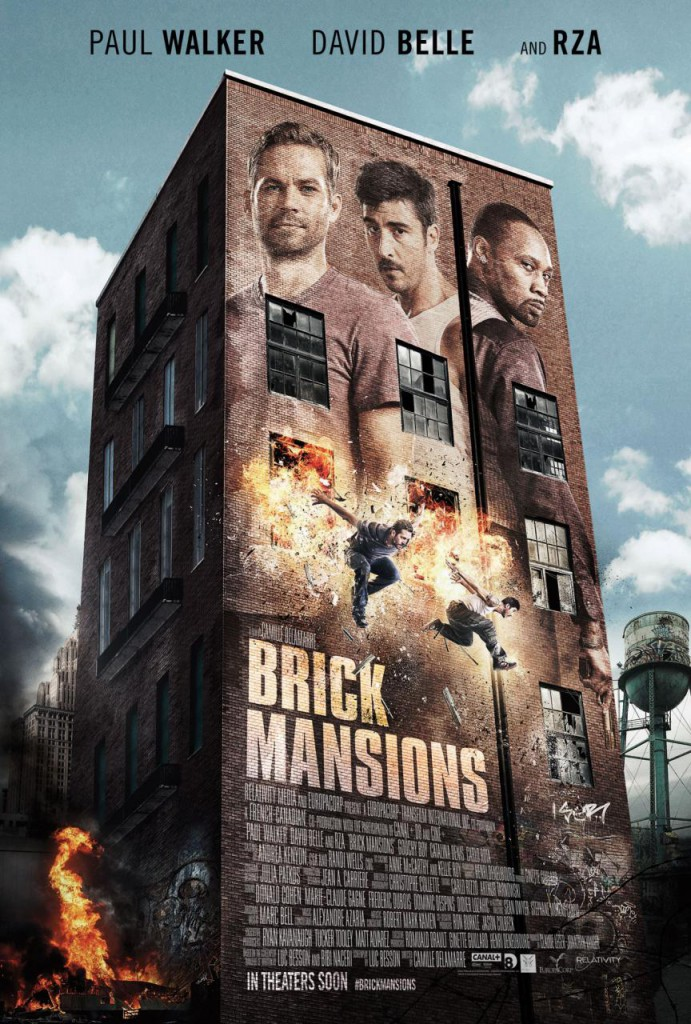 Brick Mansions Trailer Poster
