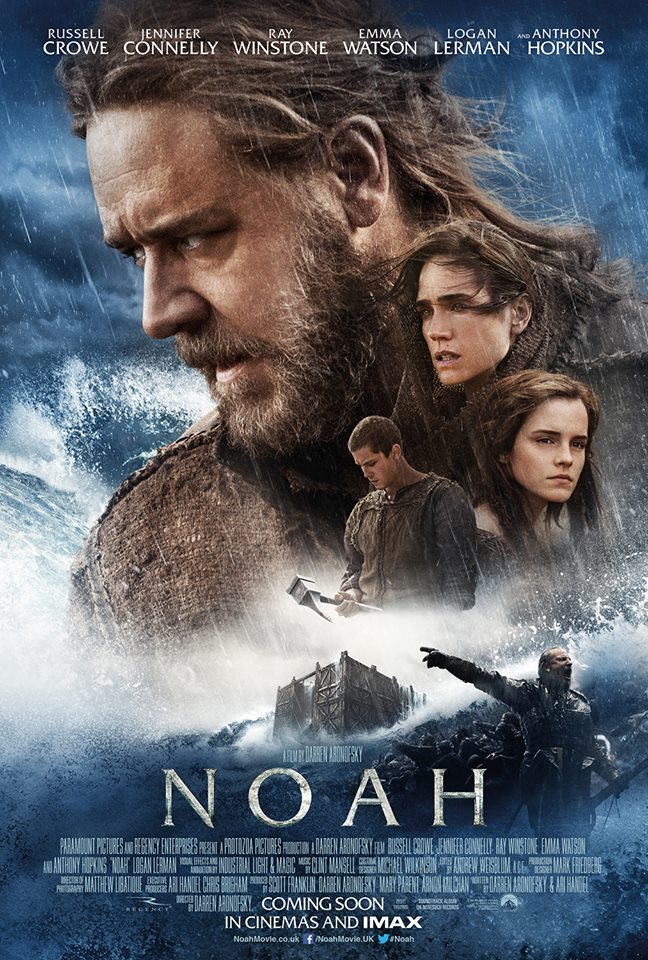 Noah 3D internationales Poster