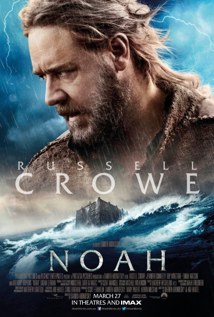Noah Charakterposter - Russell Crowe