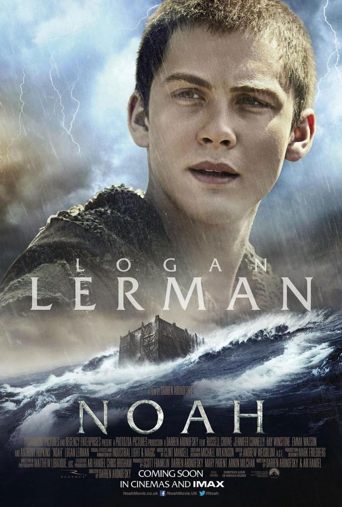 Noah Charakterposter - Logan Lerman