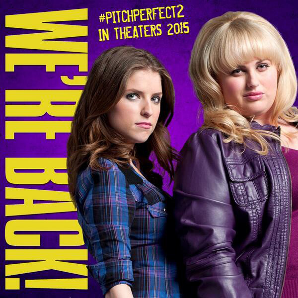 Pitch Perfect 2 Anna Kendrick Rebel Wilson