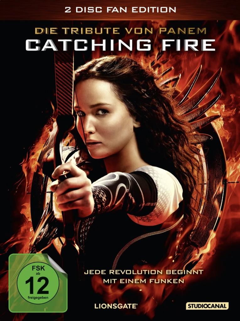 Catching Fire Gewinnspiel - Die Tribute von Panem - Catching Fire DVD