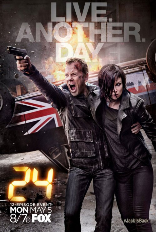 24 Live Another Day Spot und Poster