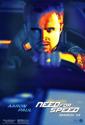 Need for Speed Charakterposter Aaron Paul