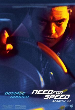 Need for Speed Charakterposter Dominic Cooper
