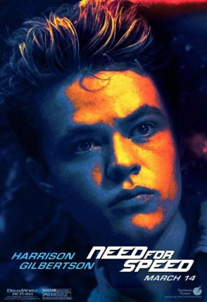 Need for Speed Charakterposter Harrison Gilbertson